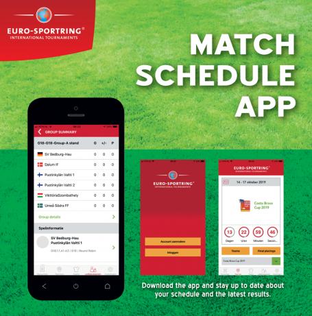 Match Schedule App